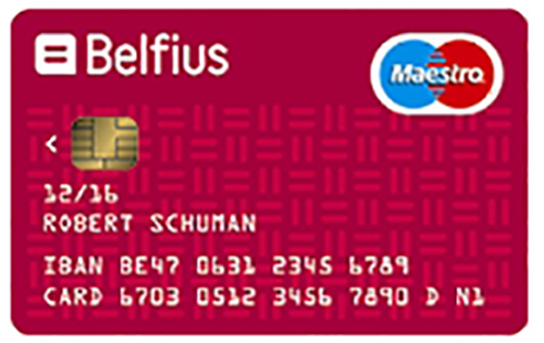 belfius blue card