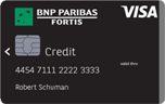 bnp paribas fortis carte visa classic les avantages. Black Bedroom Furniture Sets. Home Design Ideas